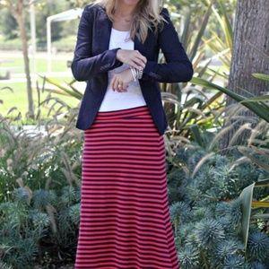 Splendid Always Striped Maxi Dress